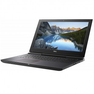 Laptop DELL, INSPIRON 5570, Intel Core i5-8250U, 1.60 GHz, HDD: 2 TB, RAM: 4 GB, video: Intel HD Graphics 610, AMD Radeon 530, webcam