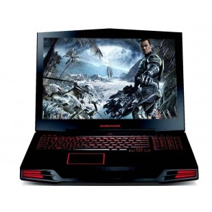 Laptop ALIENWARE, M17X,  Intel Core i7-940XM Extreme Edition, 2.13 GHz, HDD: 1000 GB, RAM: 8 GB, video: nVIDIA GeForce GTX 580M, webcam