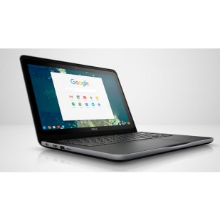 "Laptop DELL,  Chromebook 13 3380, Intel Celeron C3855, 1.6 GHz, HDD: 16 GB, RAM: 4 GB, video: Intel HD Graphics, 13.3"" HD"
