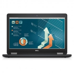 "Laptop DELL, LATITUDE E5550, Intel Core i5-5200U, 2.20 GHz, HDD: 128 GB, RAM: 8 GB, video: Intel HD Graphics 5500, webcam, 15.6"" LCD"