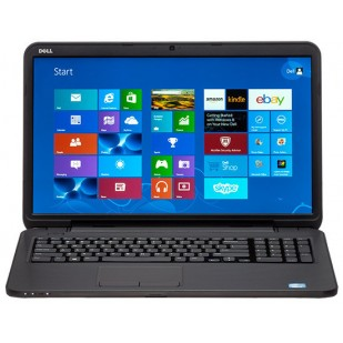 Laptop DELL, INSPIRON 3521, Intel Core i3-3217U, 1800 MHz; 4096 MB RAM; 500 GB HDD; Intel HD Graphics 4000; DVD-RW; touchscreen