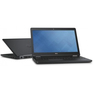 Laptop DELL, LATITUDE E5550, Intel Core i7-5600U, 2.60 GHz, HDD: 1000 GB , RAM: 8 GB, unitate optica: DVD RW, video: Intel HD Graphics 5500,  webcam,  BT, fingerprint, WINDOWS 8.1 PRO, NOU