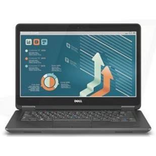 Laptop DELL, LATITUDE E7440, Intel Core i5-4210U, 1.70 GHz, HDD: 320 GB, RAM: 8 GB, video: Intel HD Graphics 4400, webcam, BT, fingerprint