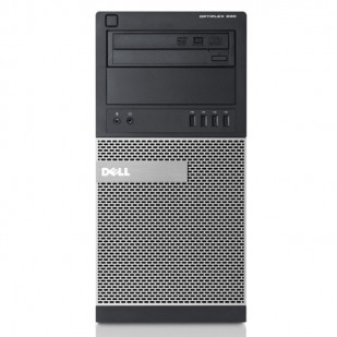 Dell, OPTIPLEX 390, Intel Core i3-2120, 3.30 GHz, video: Intel HD Graphics 2000; TOWER