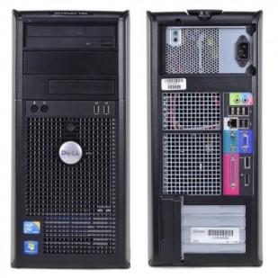 Dell, OPTIPLEX 780,  Intel Core 2 Quad Q9505, 2.83 GHz, video: Intel GMA 4500; TOWER