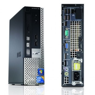 Dell, OPTIPLEX 780,  Intel Core 2 Duo E7400, 2.80 GHz,  video: Intel(R) Q45/Q43 Express Chipset, USFF