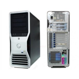 Dell, PRECISION WORKSTATION T7500, 2x  Intel Xeon E5630, 2.53 GHz, video: nVIDIA Quadro FX 580; TOWER