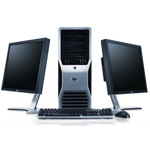 Dell Precision T5500; Intel Xeon HEXA Core  X5650 2.67 GHz; 12 GB RAM, HDD 2x300GB RAPTOR, DVD-RW, QUADRO FX3800, TOWER