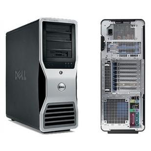 Dell, PRECISION WORKSTATION T5500,  2 x Intel Xeon X5650, 2.67 GHz, HDD: 300 GB, 300 GB, RAM: 24 GB, unitate optica: DVD RW, video: nVIDIA Quadro FX 4600