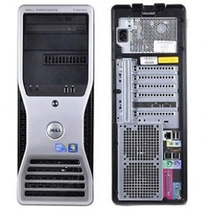 Dell, PRECISION WORKSTATION T3500,  Intel Xeon W3503, 2.40 GHz, HDD: 320 GB, RAM: 12 GB, video: ATI FirePro V3750 (RV730GL); TOWER