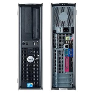 Dell, OPTIPLEX 780, Intel Core 2 Duo E7500, 2.93 GHz, video: Intel GMA 4500; DESKTOP