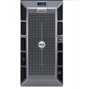 DELL PowerEdge 2900; QuadCore Intel Xeon E5310, 1600 MHz; 6 GB RAM; HDD TYPE: SAS; CD; 8x 3,5 HDD bay