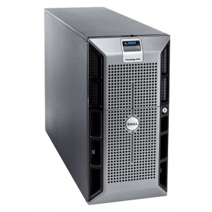 "DELL PowerEdge 1900;DualCore Intel Xeon 5160, 3000 MHz; 4 GB RAM; HDD TYPE: SAS; DVD; 8x 3,5"" HDD bay; size:4U"