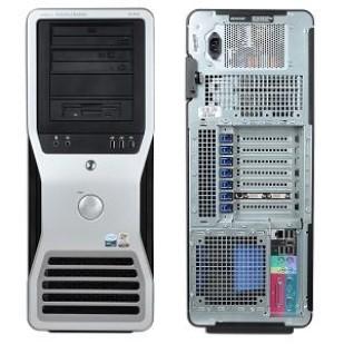 Dell Precision 490; 2 x Intel Xeon Quad Core X5355 2.6 GHz; TOWER
