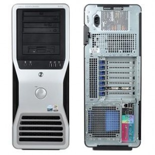 Dell, PRECISION WORKSTATION T3500, Intel Xeon W3530, 2.80 GHz, video: nVIDIA Quadro NVS 295; TOWER