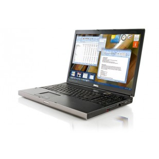 Laptop DELL, PRECISION M6500, Intel Core i7-740QM, 1.73 GHz, RAM: 8 GB, unitate optica: DVD RW, video: nVIDIA Quadro FX 2800M,  webcam,  fingerprint