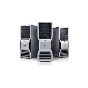 DELL, PRECISION WORKSTATION T5500, 2x  Intel Xeon E5645, 2.4 GHz, HDD: 500 GB, RAM: 8 GB, unitate optica: DVD, video: nVIDIA Quadro 2000