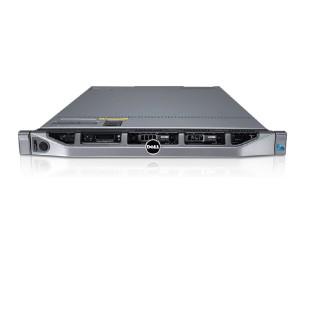 "DELL PowerEdge R610; 2 x QuadCore Intel Xeon E5640, 2.66 GHz; 16 GB RAM; DVD; RAID Controller; PERC 6/I; 6x 2,5"" HDD bay; 2x PSU; size: 1U"