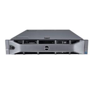 "DELL PowerEdge R710; 2x SixCore Intel Xeon X5650, 2.6 GHz; 72 GB RAM, DVD; 4x 3,5"" HDD bay; size: 2U"