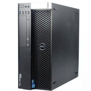 Dell, PRECISION T5610, 2 x Intel Xeon E5-2620 v2, 2.10 GHz, HDD: 256 GB, RAM: 32 GB, video: nVIDIA NVS 310; TOWER