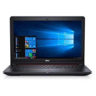 Laptop DELL, INSPIRON 5577, Intel Core i5-7300HQ , 2.50 GHz, HDD: 256 GB, RAM: 8 GB, video: Intel HD Graphics 630, webcam