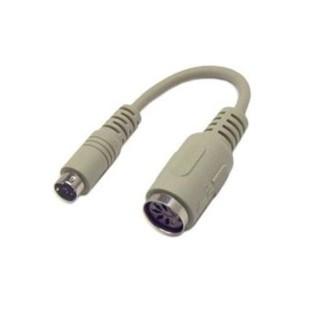 Cablu PC; DIN-6 M la DIN-6 F; 1m
