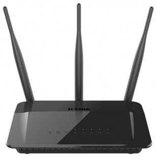 ROUTER D-LINK; model: DIR-809; MANAGEMENT; WIRELESS; PORTURI: 4 x RJ-45 10/100