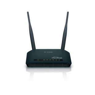 ROUTER D-LINK; model: DIR-605L; MANAGEMENT; WIRELESS; PORTURI: 4 x RJ-45 10/100