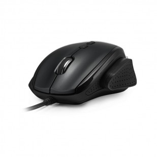 MOUSE DELUX USB BLACK DLM-537BU