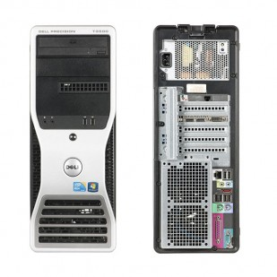 Dell, PRECISION WORKSTATION T3500,  Intel Xeon X5650, 2.66 GHz, HDD: 250 GB, RAM: 6 GB, unitate optica: DVD, video: nVIDIA Quadro NVS 295