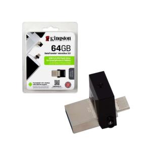 USB STICK KINGSTON, model: DTDUO03/64GB, capacitate 64 GB, interfata 3.0