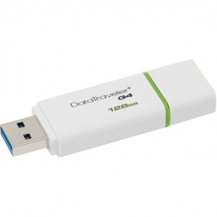 USB STICK KINGSTON, model: DTIG4/128GB, capacitate: 128 GB, interfata: 3.0, culoare: ALB