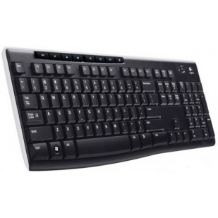 TASTATURA Logitech K270 Wireless Keyboard, USB, black (920-003738)