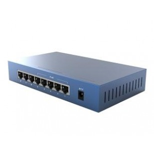 PoE (Power Over Ethernet) Switch  8 Porturi 10/100M (4 porturi PoE), carcasa metal TENDA (TEF1008P)