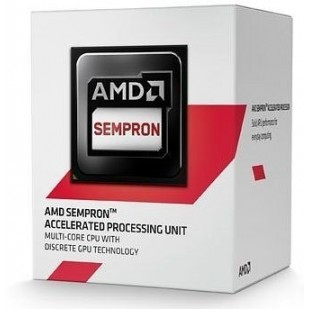 "CPU AMD skt  AM1  SEMPRON   2650, 1.45GHz, 1MB cache , 25W  ""SD2650JAHMBOX"""