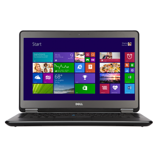 Laptop DELL, LATITUDE E7440,  Intel Core i5-4200U, 1.60 GHz, HDD: 128 GB, RAM: 8 GB, video: Intel HD Graphics 4400, webcam