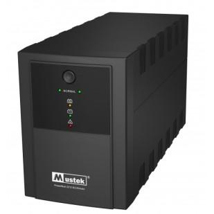 UPS  MUSTEK PowerMust 2212 (2200VA) Line Interactive, IEC/Schuko (include timbru verde 3 lei)