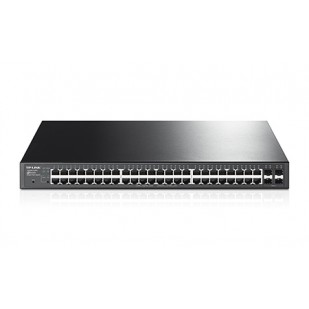 JetStream 48-Port Gigabit Smart PoE Switch with 4 SFP Slots (T1600G-52PS(TL-SG2452P))