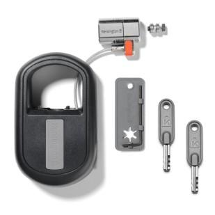 Cablu securitate notebook Kensington ClickSafe Keyed, otel, retractabil (K64955WW)