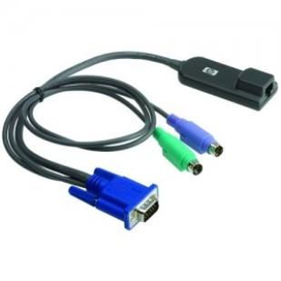 "Cablu PC; VGA M la 2 x PS/2, RJ-45 F; 0.3M; ""HP p/n: 262588-B21; 520290-3B2B77"""
