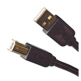 Cablu PC; USB A la USB B; 0.4m