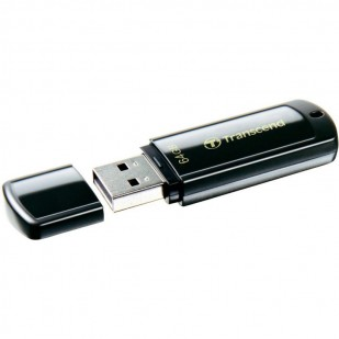 USB 2.0  64GB TRANSCEND JetFlash 350 Black (TS64GJF350)