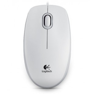 Mouse optic USB Logitech M100, White (910-001605)
