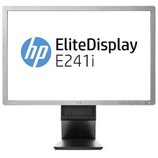 "Monitor HP; 24""; model: E241i; factory refurbished"