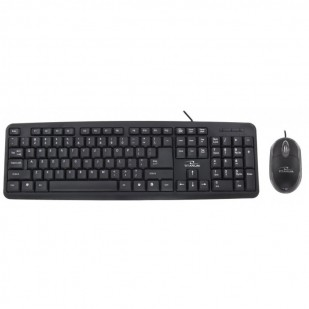 Kit Tastatura + Mouse TITANUM; model: TK106 SALEM; layout: US; NEGRU; USB;