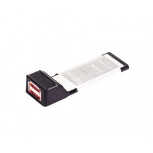 GEMBIRD PCMCIA/EXPRESS; 2xeSATA M la EXPRESS CARD; PCMCIAX-ESATA22