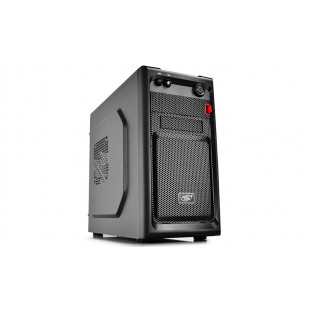 "CARCASA DEEPCOOL  mATX Mini-Tower,  front audio & 1x USB 3.0, 1x USB 2.0, black ""SMARTER"""