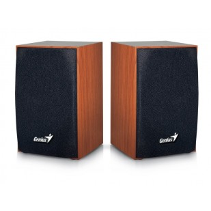 "BOXE 2.0 GENIUS  ""SP-HF160"", RMS: 2Wx2, cherry wood, USB power ""31731063101"" (include timbru verde 0.01 lei)"