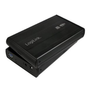 Logilink HDD ENCLOSER;SATA  la USB 2.0, Aluminiu UA0041B