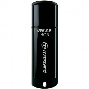 USB 2.0   8GB TRANSCEND JetFlash 350 Black (TS8GJF350)